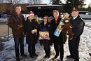 York police kick off annual toy, food drive for local families (11 photos)